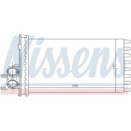 Ψυγείο καλοριφέρ NISSENS 71154